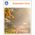 Didier Merah 『Remember Forever』 ブログパーツ