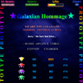 ☆ Galaxian Hommage ☆ブログパーツ